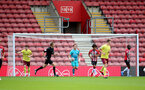 SOUTHAMPTON, ENGLAND - SEPTEMBER 19: Harry Lewis of Southampton during the Premier League 2 match between Southampton B Team and Burnley at St Mary's Stadium on September 19, 2021 in Southampton, England. (Photo by Isabelle Field/Southampton FC via Getty Images)