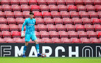 SOUTHAMPTON, ENGLAND - SEPTEMBER 19: Oliver Wright of Southampton during the Premier League 2 match between Southampton B Team and Burnley at St Mary's Stadium on September 19, 2021 in Southampton, England. (Photo by Isabelle Field/Southampton FC via Getty Images)