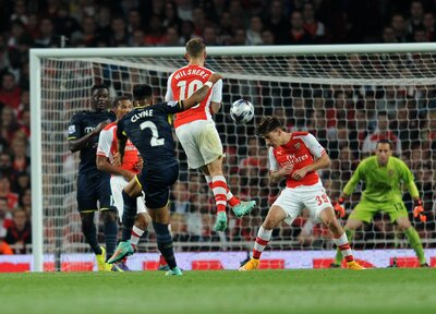 On This Day: Clyne's rocket ousts Arsenal