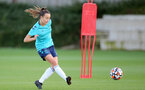 SOUTHAMPTON, ENGLAND - SEPTEMBER 22: Sophia Pharoah during Southampton Women's training at Staplewood Training Ground on September 22, 2021 in Southampton, England. (Photo by Isabelle Field/Southampton FC via Getty Images)