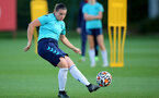 SOUTHAMPTON, ENGLAND - SEPTEMBER 22: Shannon Sievwright during Southampton Women's training at Staplewood Training Ground on September 22, 2021 in Southampton, England. (Photo by Isabelle Field/Southampton FC via Getty Images)