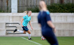 SOUTHAMPTON, ENGLAND - SEPTEMBER 22: Kelly Snook during Southampton Women's training at Staplewood Training Ground on September 22, 2021 in Southampton, England. (Photo by Isabelle Field/Southampton FC via Getty Images)
