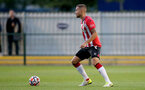 SOUTHAMPTON, ENGLAND - SEPTEMBER 23: Olly Lancashire of Southampton during the Premier League Cup match between Southampton B Team and West Bromwich Albion at Snows Stadium on September 23, 2021 in Southampton, England. (Photo by Isabelle Field/Southampton FC via Getty Images)