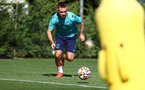 SOUTHAMPTON, ENGLAND - SEPTEMBER 24: Adam Armstrong during a Southampton FC training session at the Staplewood Campus on September 24, 2021 in Southampton, England. (Photo by Matt Watson/Southampton FC via Getty Images)
