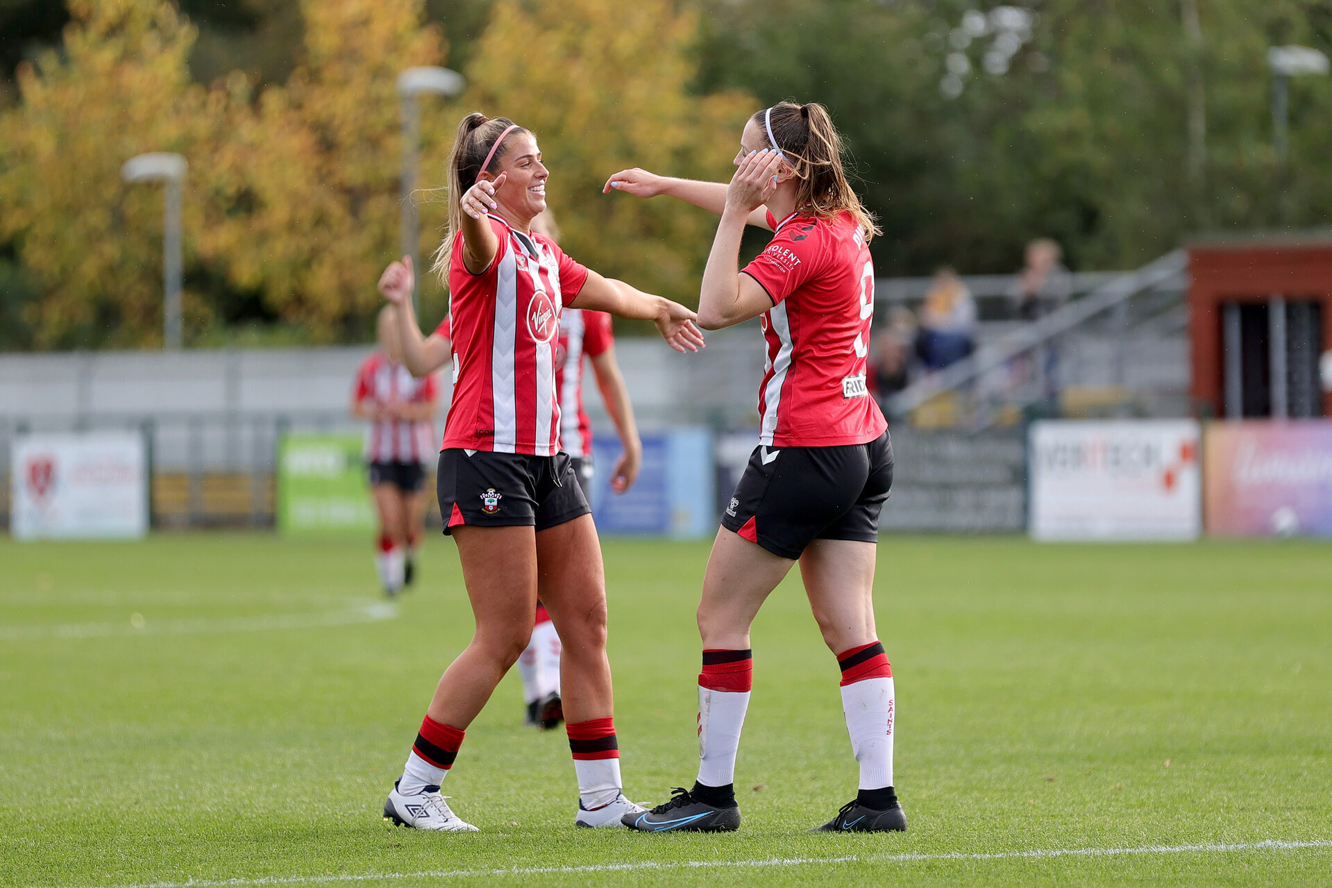 SOUTHAMPTON, ENGLAND - OCTOBER 03:  during the FA National League Southern Premier match between Southampton Women and Keynsham Town at The Snows Stadium on October 03, 2021 in Southampton, England. (Photo by Isabelle Field/Southampton FC via Getty Images)