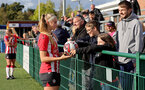 SOUTHAMPTON, ENGLAND - OCTOBER 03: Caitlin Morris of Southampton during the FA National League Southern Premier match between Southampton Women and Keynsham Town at The Snows Stadium on October 03, 2021 in Southampton, England. (Photo by Isabelle Field/Southampton FC via Getty Images)
