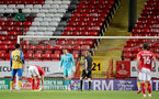 LONDON, ENGLAND - OCTOBER 06: Jack Bycroft of Southampton during the Papa John's Trophy match between Charlton Athletic and Southampton B Team at The Valley on October 06, 2021 in London, England. (Photo by Isabelle Field/Southampton FC via Getty Images)