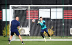 SOUTHAMPTON, ENGLAND - OCTOBER 11: Jack Bycroft during Southampton B Team training at Staplewood Training Ground on October 11, 2021 in Southampton, England. (Photo by Isabelle Field/Southampton FC via Getty Images)