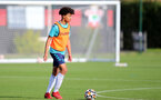 SOUTHAMPTON, ENGLAND - OCTOBER 11: Kamari Doyle during Southampton B Team training at Staplewood Training Ground on October 11, 2021 in Southampton, England. (Photo by Isabelle Field/Southampton FC via Getty Images)